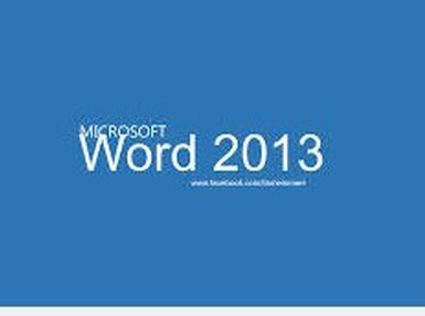Certificate In Word 2013 Expert Online Course