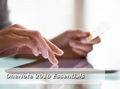 Certificate In OneNote 2010 Essentials Online Course