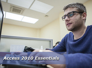 Certificate In Access 2010 Essentials Online Course