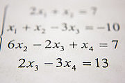 Introduction to Algebra (Self-Paced Tutorial) Online Certificate Course