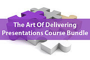 Ultimate Art of Delivering Presentations and Training Online Bundle, 3 Certificate Courses