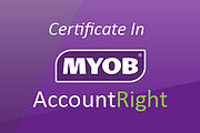 MYOB AccountRight Online Certificate Course