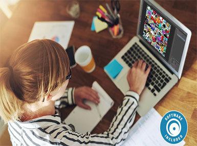 Certificate in Graphic Design with Photoshop, Software Included Online Course