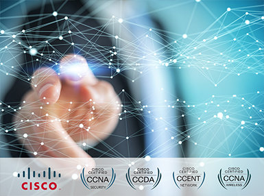 New Cisco Complete Network Training Online Bundle, 9 Certificate Courses