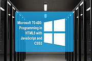 Certificate In Microsoft 70-480: Programming in HTML5 with JavaScript and CSS3 Online Course